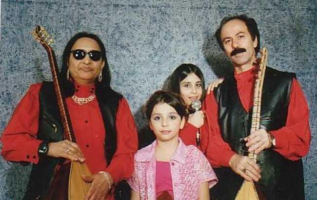 Familie Agdasan (von links nach rechts) Asik Sahturna  Sirin   Safak    Ozan Siar